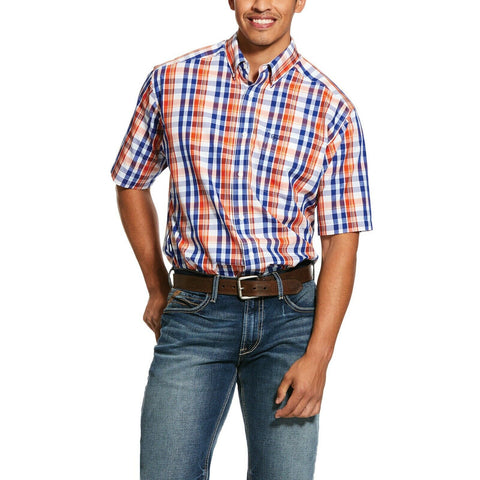 Ariat® Men's Wrinkle Free Patrick Short-Sleeve Button Shirt 10031049