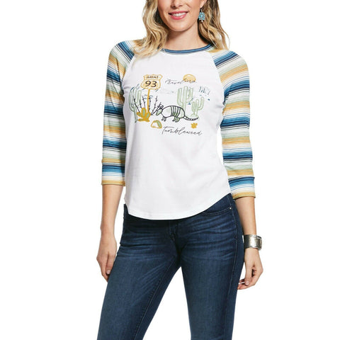 Ariat Ladies Vitamin Sea Traveling Tumbleweed Shirt 10031828
