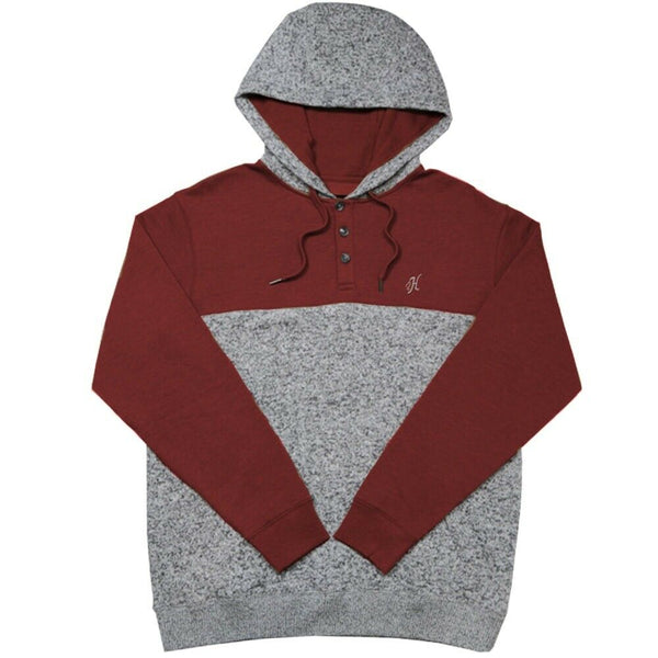 Hooey Men's Jimmy Barn Red Hoodie HH1159GY