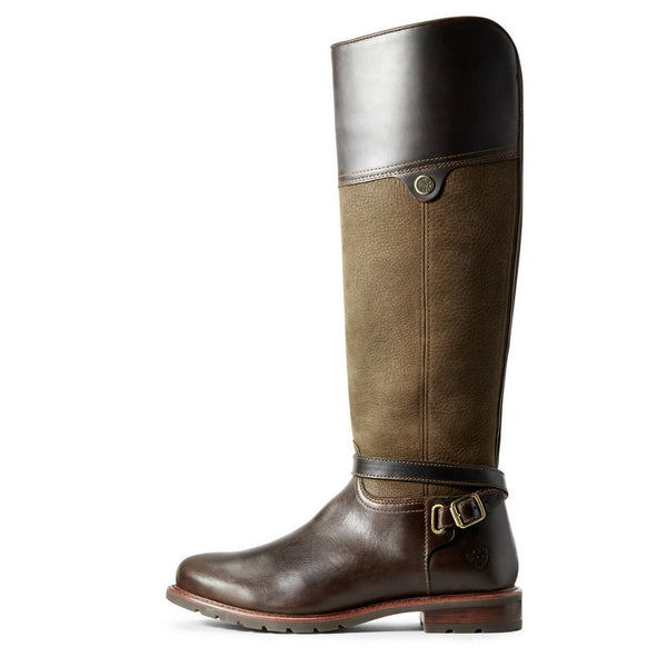 Ariat® Ladies Carden H2O Chocolate & Willow Boots 10029551