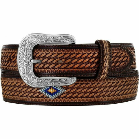 Justin Men's Sunset Diamond Belt C13565