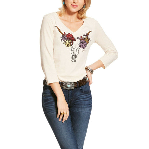 Ariat Ladies Sandshell Elara 3/4 Sleeve Shirt 10028722