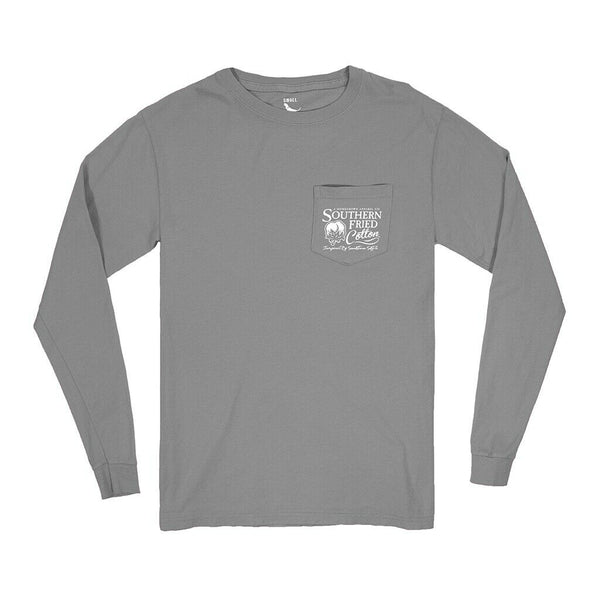 Southern Fried Cotton The Original Goat Granite LS T-Shirts SFM31447