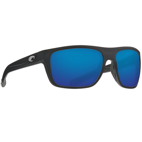 Costa Broadbill Black Frame with Blue Glass Lens Sunglasses BRB-11-OBMGLP