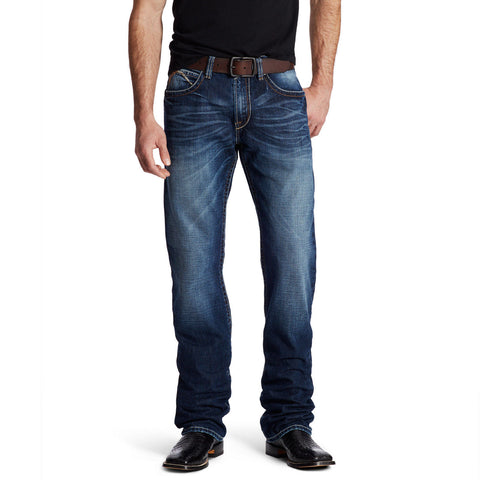 Ariat® Men's M4 Austin Riverton Low Rise Boot Cut Jeans 10019553