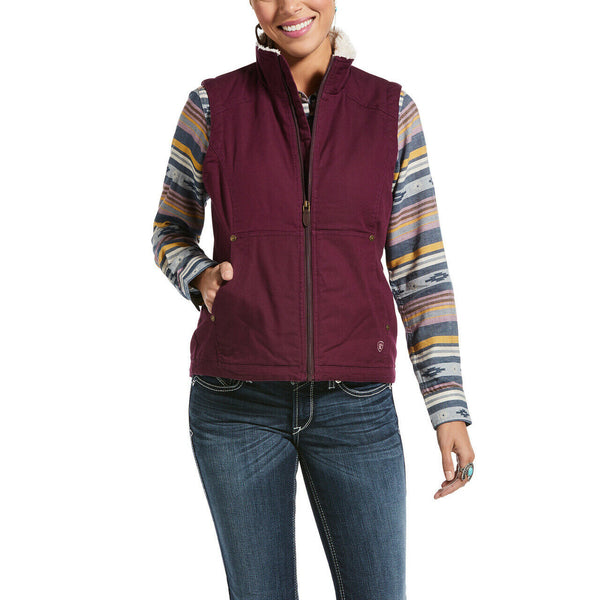 Ariat® Ladies Winetasting REAL Outlaw Vest 10033008