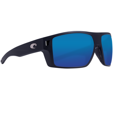 Costa Diego Black Frame with Glass Lens Sunglasses DGO-11-OBMGLP