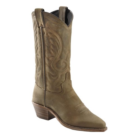 Abilene Ladies Oiled Cowhide Snip Toe Cowgirl Boots 9036 - Wild West Boot Store