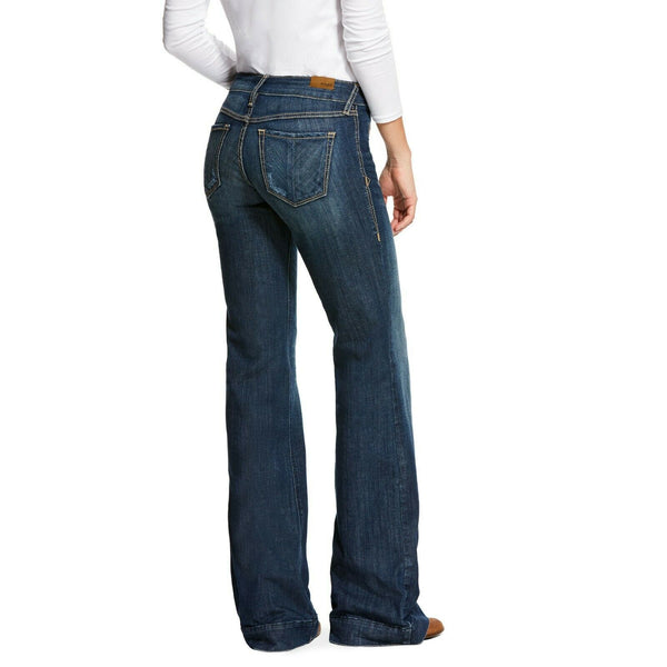 Ariat® Ladies Lucy Wide Leg Trouser Jeans 10028925