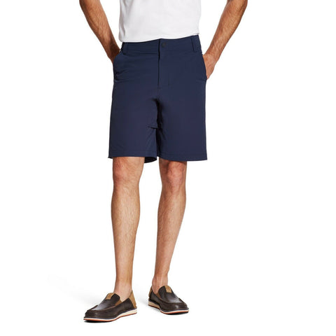 Ariat® Men's Airflow Tekstretch Navy Shorts 10019574