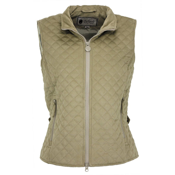 Outback Trading Ladies Grand Prix Creme Vest 2958-CRM