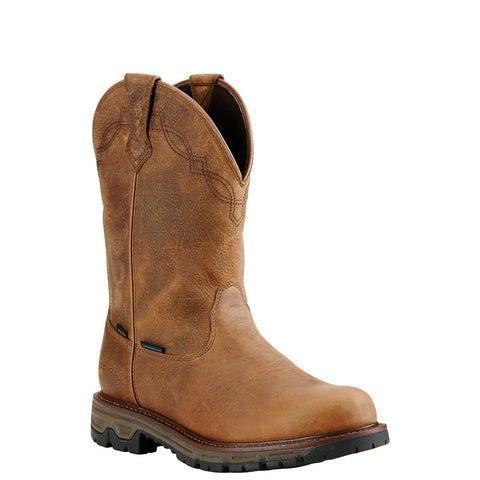 Ariat Men's Conquest Waterproof Insulated Brown Hunting Boots 10018693
