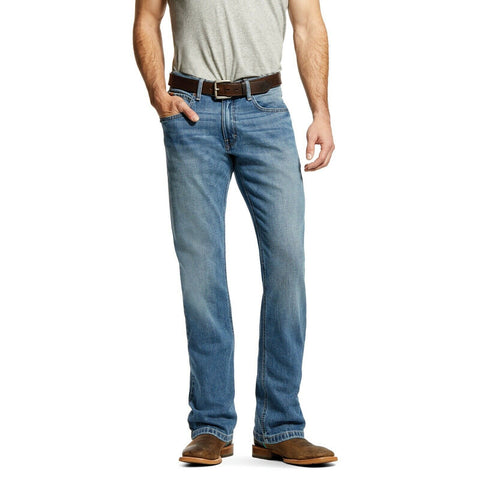 Ariat® Men's M4 Sawyer Stretch Relaxed Fit Straight Leg Jeans 10029009