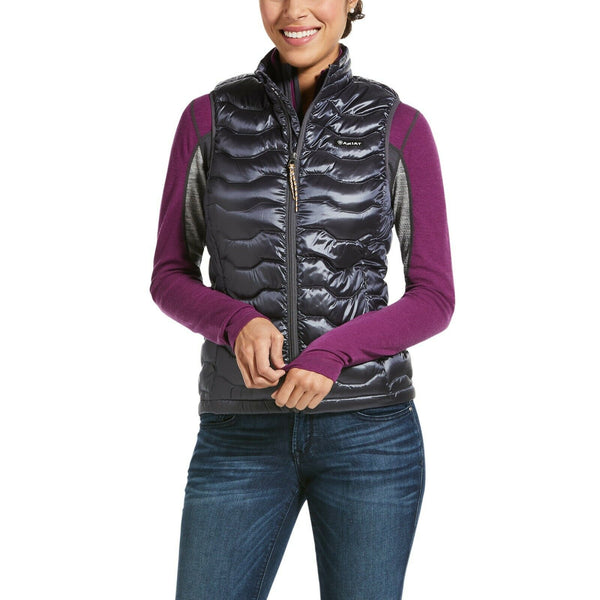 Ariat® Ladies Ideal 3.0 Down Insulated Blue Quilted Vest 10032647