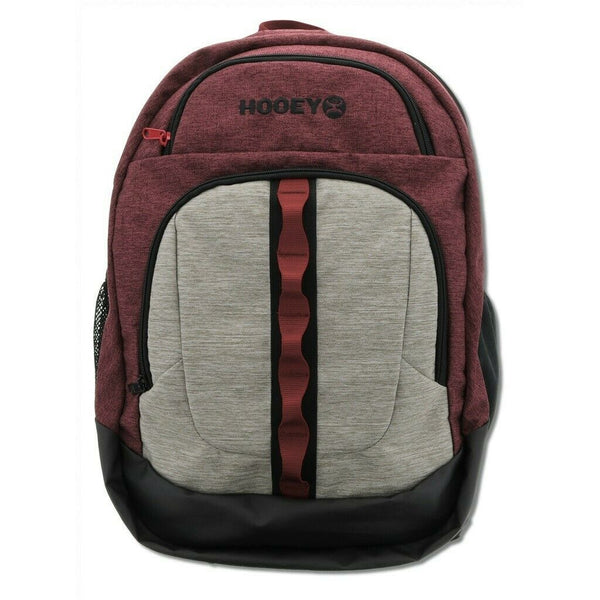 Hooey Ox Maroon Backpack Bag BP032MA