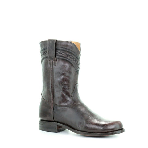 Corral Men's Chocolate Round Toe Boots A3483