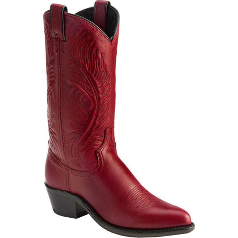 Abilene Ladies Red Garment Western Boots 9052