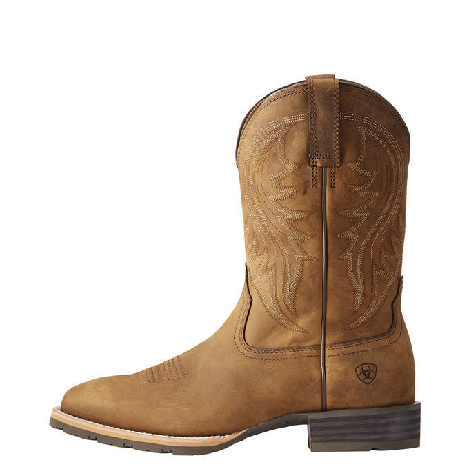 94863ae454d Ariat® Men's Hybrid Rancher Distressed Brown Square Toe Boots 10023175