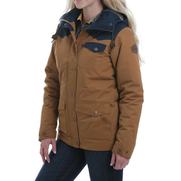 Cinch Ladies Color Blocked Barn Jacket MAJ9879001