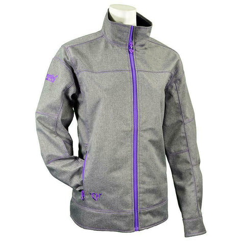 Cowgirl Hardware Ladies Heather Grey Tech Jacket 291172-034
