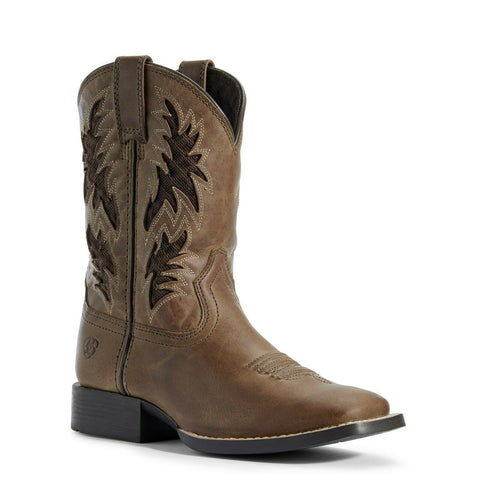 Ariat® Children's Homestead Brown Cowboy VentTEK™ Boots 10031488