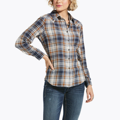 Ariat® Ladies Cedar Blossom REAL Billie Jean Shirt 10033212