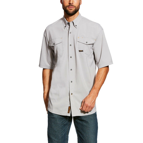Ariat® Men's Rebar Made Tough VentTEK Short Sleeve Work Shirt 10025424