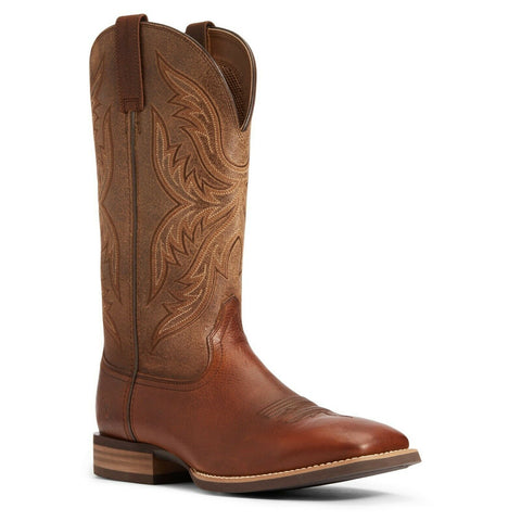 Ariat Men's Dark Carob Everlite Fast Time Western Boot 10033910