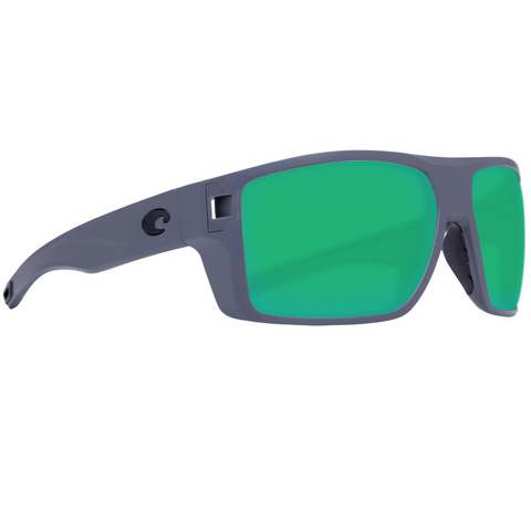 Costa Diego Gray Frame with Glass Lens Sunglasses DGO-98-OGMGLP