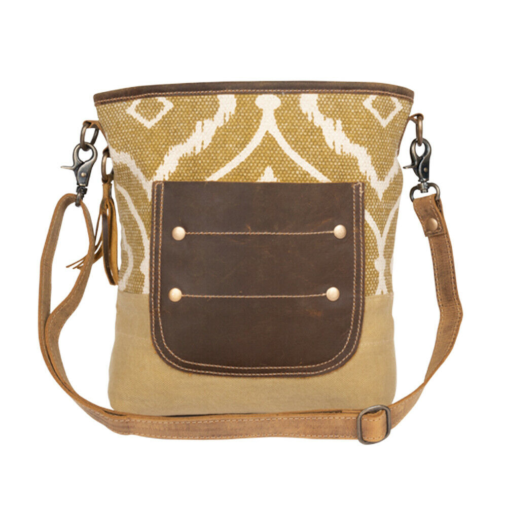 Myra Bag Arty Canvas Leather Shoulder Bag S 2148 Wild West Boot Store 🆕myra bag frenchy white handbag canvas bag purse medium tote for vintage womentop rated seller. wild west boot store