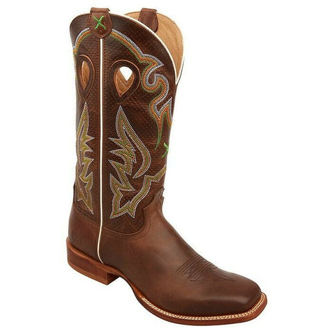 Twisted X Men's Rough Stock Chocolate Boots MRSL038