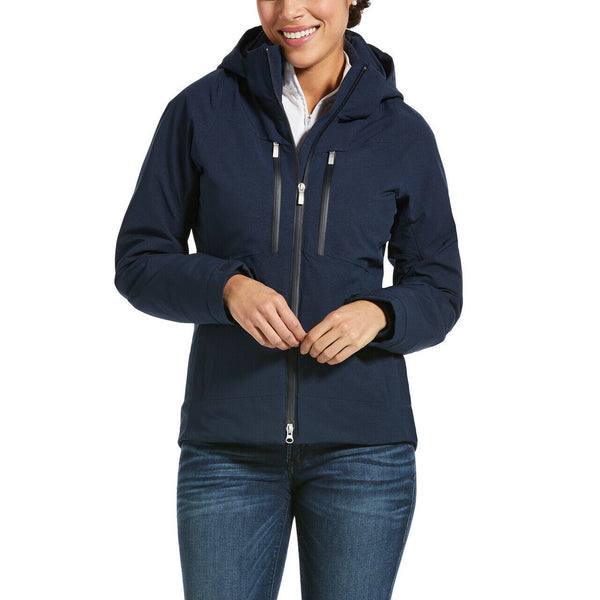 Ariat® Ladies Veracity Waterproof Insulated Navy Jacket 10032721