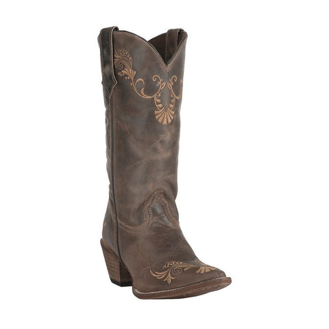 Rawhide by Abilene Ladies Brown/Tan Vine Boot 5147 - Wild West Boot Store