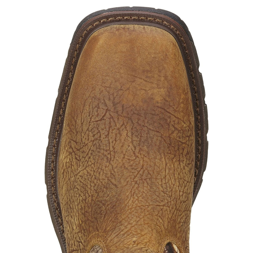 Ariat 174 Men S Conquest H2o Brush Brown Camo Insulated Boot