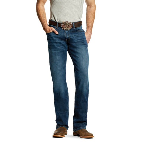 Ariat® Men's M4 Freeman Stretch Relaxed Fit Boot Cut Jeans 10022674