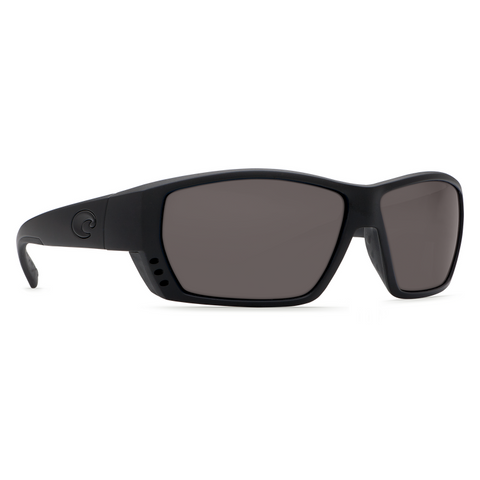 Costa Tuna Alley Blackout Frame with Gray Lens Sunglasses TA-01-OGP