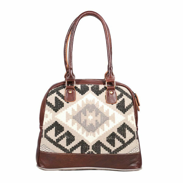 Myra Bag Cotton Rug Craggy Small Bag S-1883