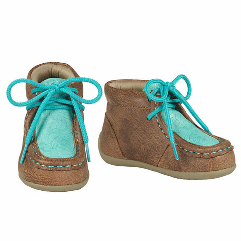 Double Barrel Toddler Brown Mia Casual Shoes 4441508