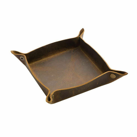 Myra Bag Brown Leather Opulent Offering Tray S-2332