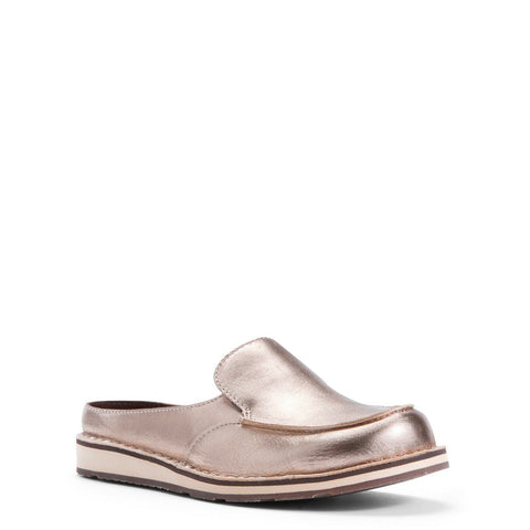 Ariat® Ladies Cruiser Slide Rose Gold Metallic Slip-On Shoes 10027351
