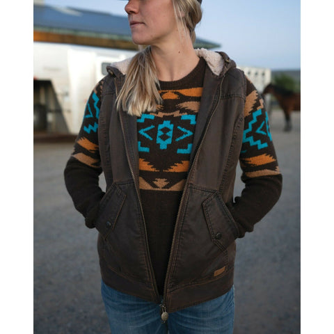 Outback Trading Company® Ladies Heidi Brown Vest 29678-BRN