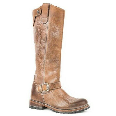 Stetson Ladies Avery Burnished Tan Boot 12-021-7107-1317