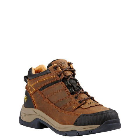 Ariat® Men's Terrain Pro Bison Brown Lace-up Hiking Boots 10018471