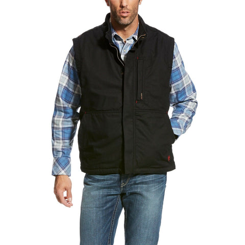 Ariat® Men's FR Workhorse Black Insulated Vest 10024030