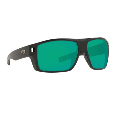 Costa Diego Black Frame w/ Green Mirror Lens Sunglasses DGO 11 OGMGLP