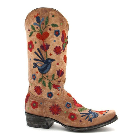 Old Gringo Ladies Pajaro Bone Boot L2476-4WT - Wild West Boot Store - 1