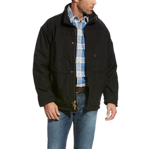 Ariat® Men's FR Workhorse Black Insulated Jacket 10024028