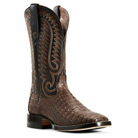 Ariat Men's Pro Chocolate Giant Caiman Boots 10029619
