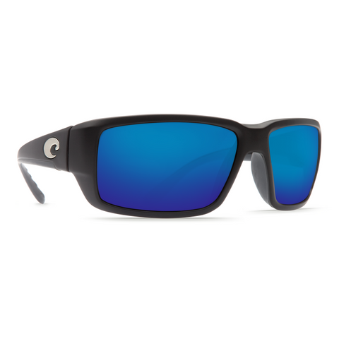 Costa Fantail Black Frame with Blue Lense Sunglasses TF-11-OBMGLP