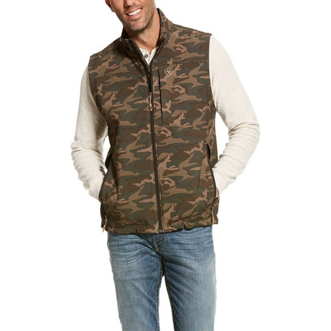 Ariat® Men's Crius Camouflage Insulated Concealed Carry Vest 10028370